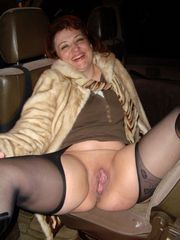 Russian mature bitch shows her fuckable..