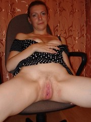 Dissolute mature women without panties