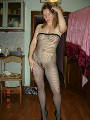 Nubie wives in sexy fishnet clothes