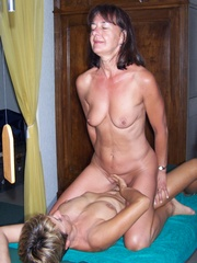 Horny and old lesbian lovers private..