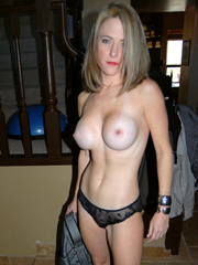 Stunning mature wife undressing and..