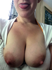 Close-up boobs photos, amateur mature..