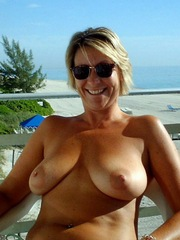 Sexy and naked moms without panties