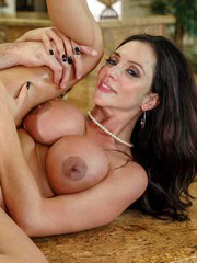 Big boobs MILF Ariella Ferrera hot..