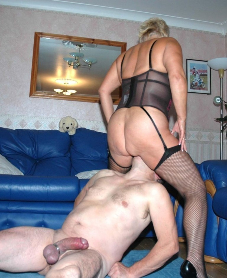 Hungry busty grannies and moms suck and fuck a single guy 3